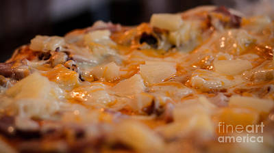 Photograph - Fresh Hawaiian Pizza by Cheryl Baxter