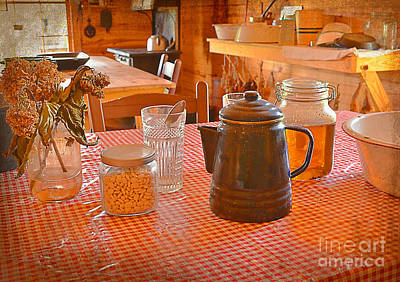 Photograph - Fresh Honey On The Table by Kathy Baccari