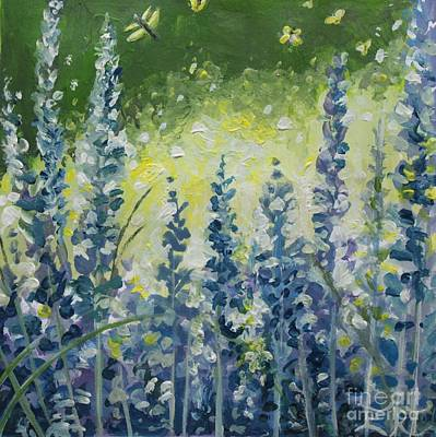 Painting - Fresh Lavender by Elizabeth Robinette Tyndall