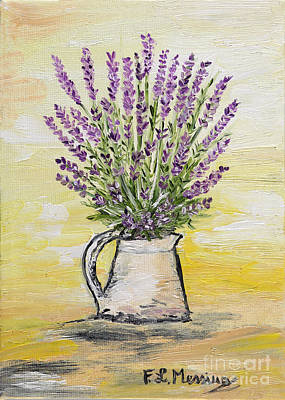 Painting - Fresh Lavender by Loredana Messina