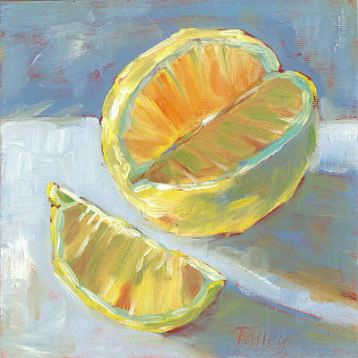 Painting - Fresh Lemons by Pam Talley