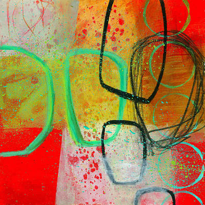 Abstracted Painting - Fresh Paint #3 by Jane Davies