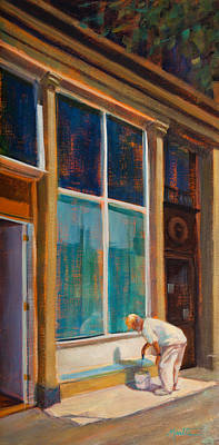 Fresh Paint Art Print by Athena Mantle