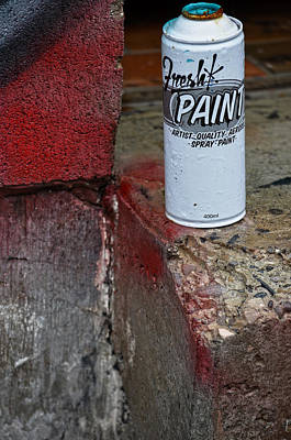 Paint Cans Photograph - Fresh Paint  by Empty Wall