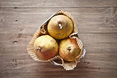Photograph - Fresh Pears by Tom Gowanlock