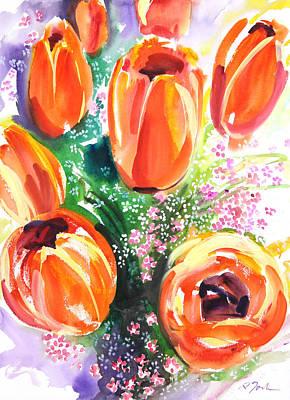 Millbury Painting - Fresh Pick No.398 by Sumiyo Toribe