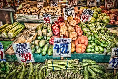 Photograph - Fresh Produce by Spencer McDonald