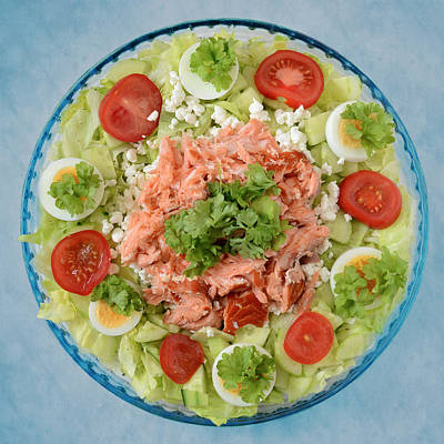 Photograph - Fresh Salmon Salad by Ari Salmela