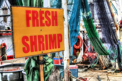 Photograph - Fresh Shrimp by JC Findley