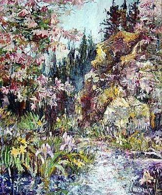 Painting - Fresh Spring Stream by Patricia Trudeau