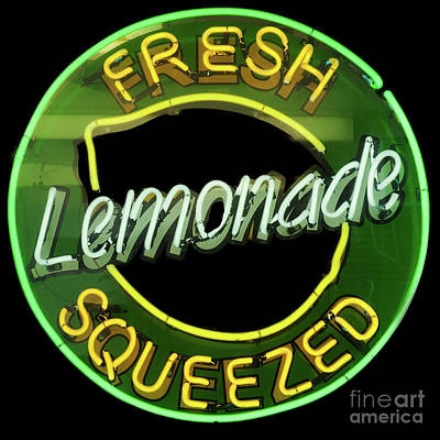 Fresh Squeezed Lemonade Art Print