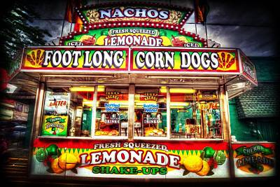 Hot Dogs Photograph - Fresh Squeezed Lemonade by Spencer McDonald