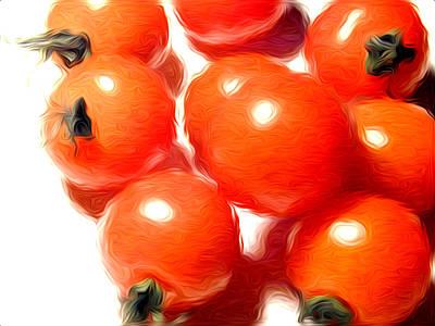 Fresh Tomatos Art Print by Stefan Petrovici