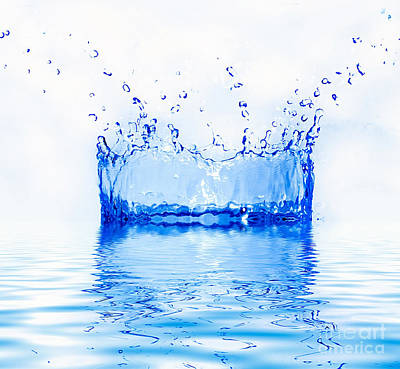 1920s Flapper Girl - Fresh water splash by Michal Bednarek