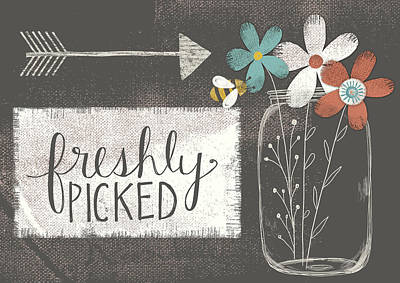 Freshly Picked Art Print by Katie Doucette