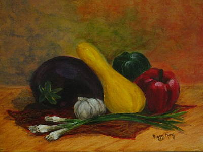 Painting - Freshly Picked by Peggy King
