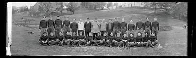 Freshman Football Squad, Catholic Art Print by Fred Schutz Collection