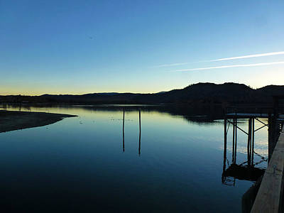 Clearlake Photograph - Freshwater Clearlake California by Fabien White