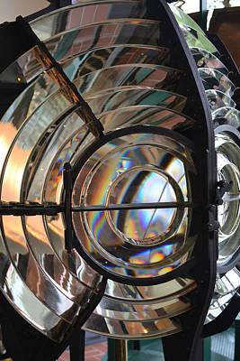 Photograph - Fresnel Lens #1 by rd Erickson