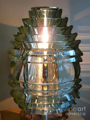 Movies Star Paintings - Fresnel Lens by Christine Stack