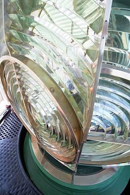 Fresnel Lens In Lighthouse Art Print