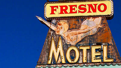 California Photograph - Fresno Motel by April Bielefeldt