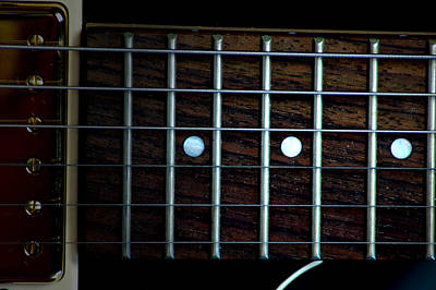 Photograph - Fretboard by David Weeks