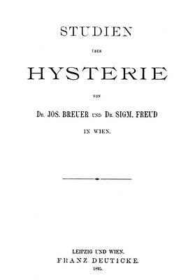 Sigmund Freud Painting - Freud Hysteria, 1895 by Granger