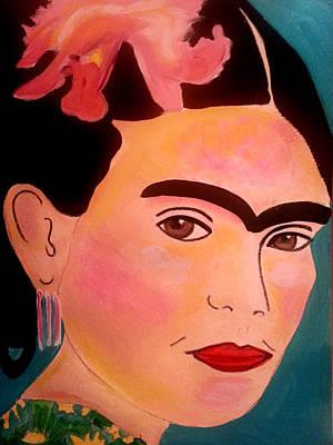 Painting - Frida Kahlo 1 by Nikki Dalton