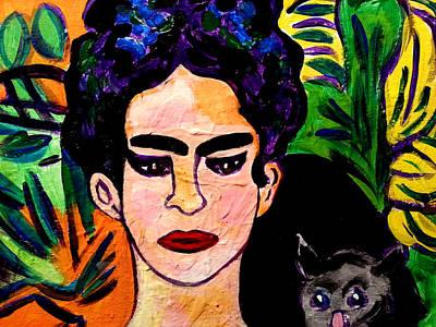Painting - Frida Kahlo 2 by Nikki Dalton