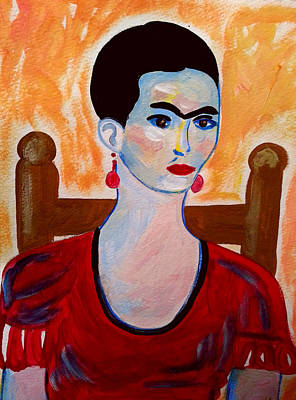Painting - Frida Kahlo 5 by Nikki Dalton