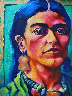 Frida Kahlo Original by Melanie Pearson