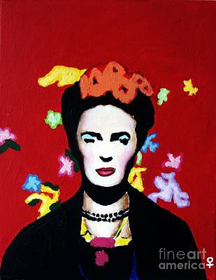 Postmodern Mixed Media - Frida Kahlo by Venus