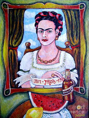 Painting - Frida by Patience A