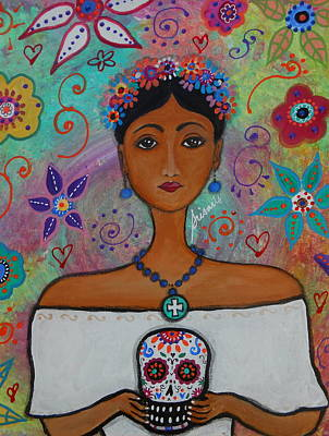 Painting - Frida's Wedding by Pristine Cartera Turkus