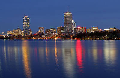 Charles River Photograph - Friday Night And Loving It by Juergen Roth