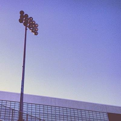 Sports Photograph - Friday Night Light by Christy Beckwith