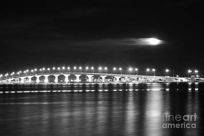 Photograph - Friday The 13th At The Causeway Bw by Lynda Dawson-Youngclaus