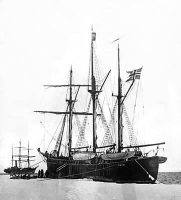 1898 Photograph - Fridtjof Nansen's Ship, �fram� by Underwood Archives