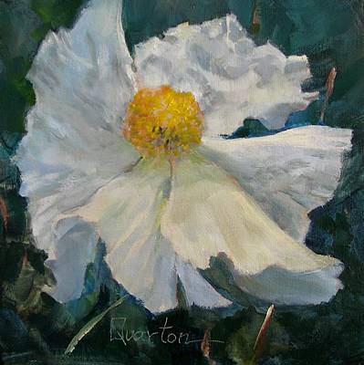 Painting - Fried Egg Flower by Lori Quarton
