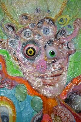 Fried Face Art Print