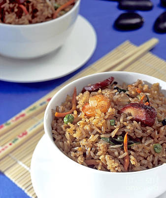 Fried Rice Art Print by Tim Hester