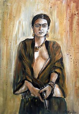 Frieda Kahlo Revolution Original by Olivia Gray