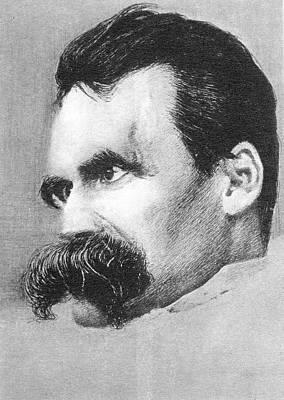 1840 Photograph - Friedrich Nietzsche by Universal History Archive/uig