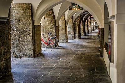 Photograph - Friedrich Strassa Innsbruck Austria by Alex Saunders