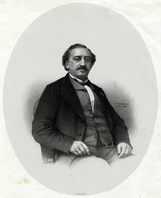 Friedrich Von Flotow  German Musician Art Print by Mary Evans Picture Library