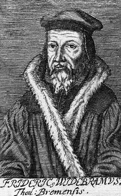 Reform Painting - Friedrich Widebrand (1532-1585) by Granger