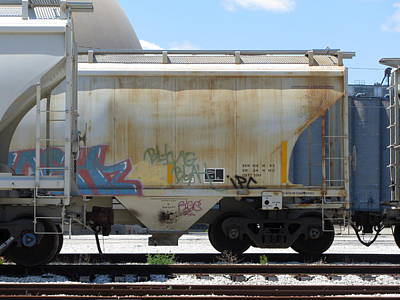 Photograph - Frieght Train Cars 8 by Anita Burgermeister