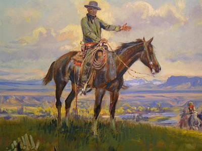 Digital Art - Friend Detail by Charles Russell