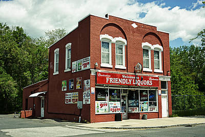 Photograph - Friendly Liquors by Mike Martin